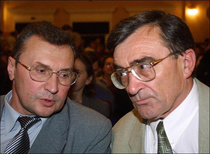 Семен Домаш и Владимир Гончарик