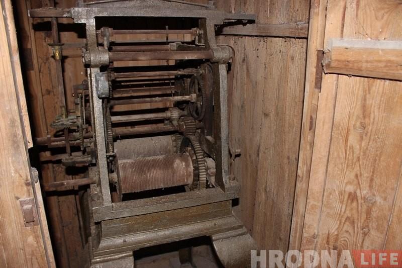 В Гродно вернулись столетние башенные часы из кирхи