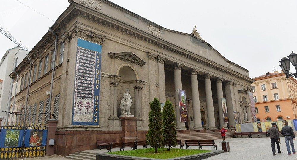 Художественный музей в Минске своими очертаниями очень похож на гродненский дворец текстильщиков