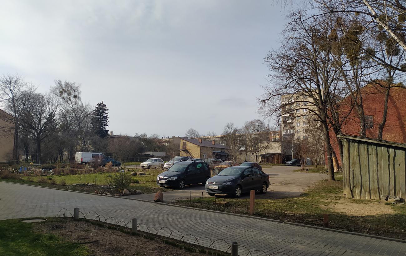 На вуліцы 1 Мая ў Гродне з'явяцца два будынкі: адзін ужо будуюць, другі абмяркоўваюць