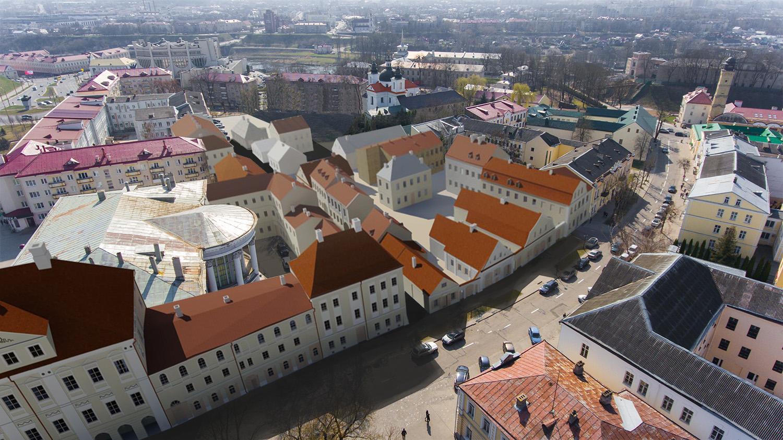 Фара Витовта, ратуша, дворец Радзивиллов. Что еще решили восстановить в детальном плане центра Гродно