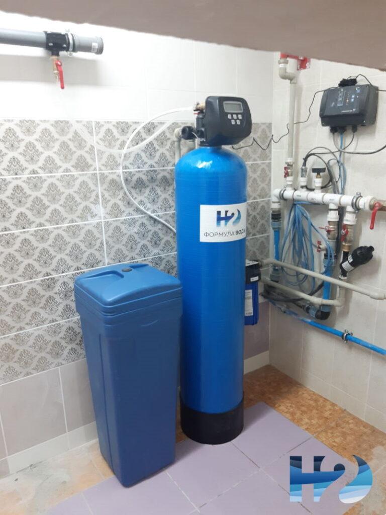 Системы комплексной очистки воды Formula FeSoft,  подойдут  для дачи или большого дома.