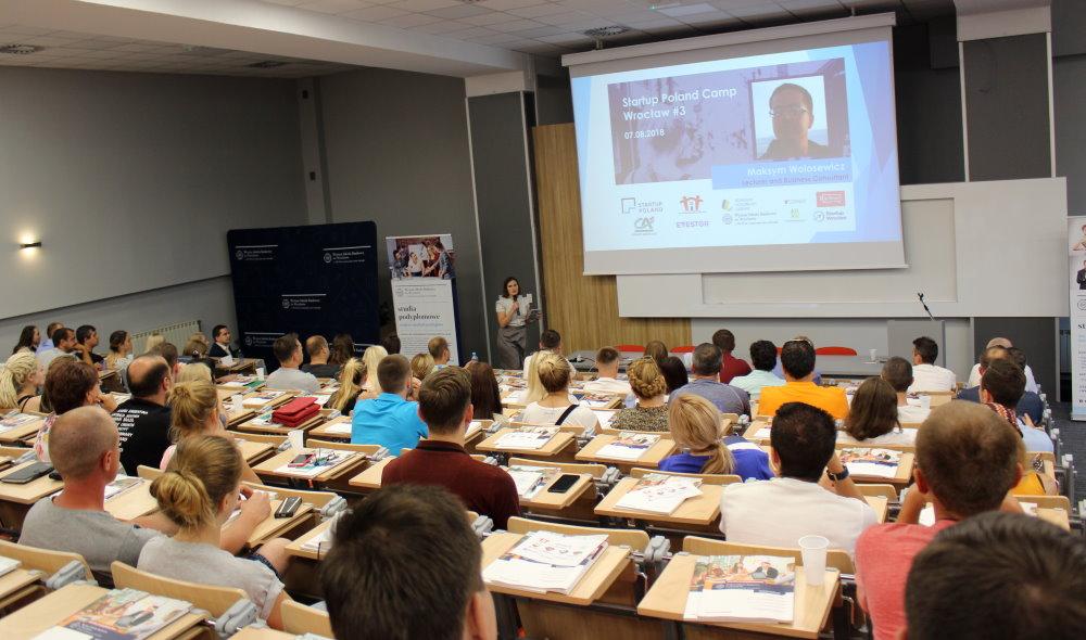"""Конференция """"Startup Poland Camp Wrocław"""""""
