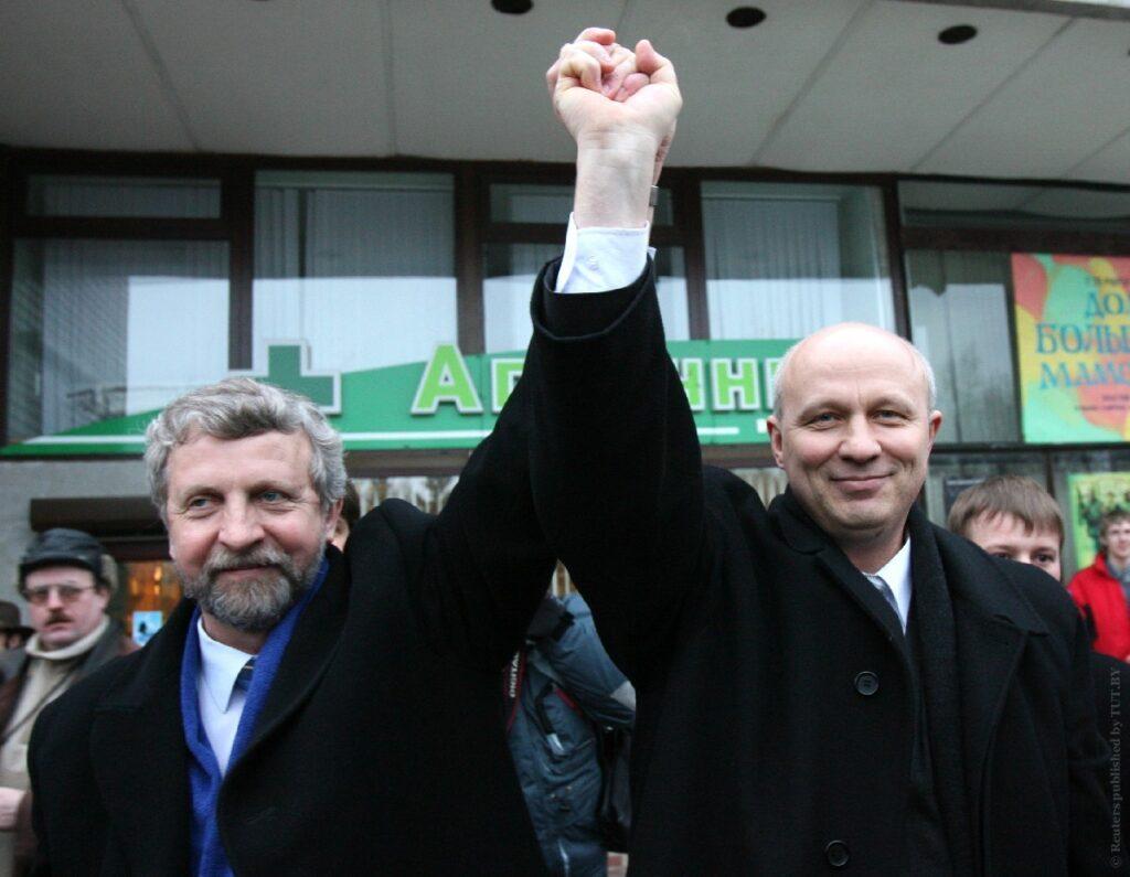 Александр Милинкевич Александр Козулин 2006