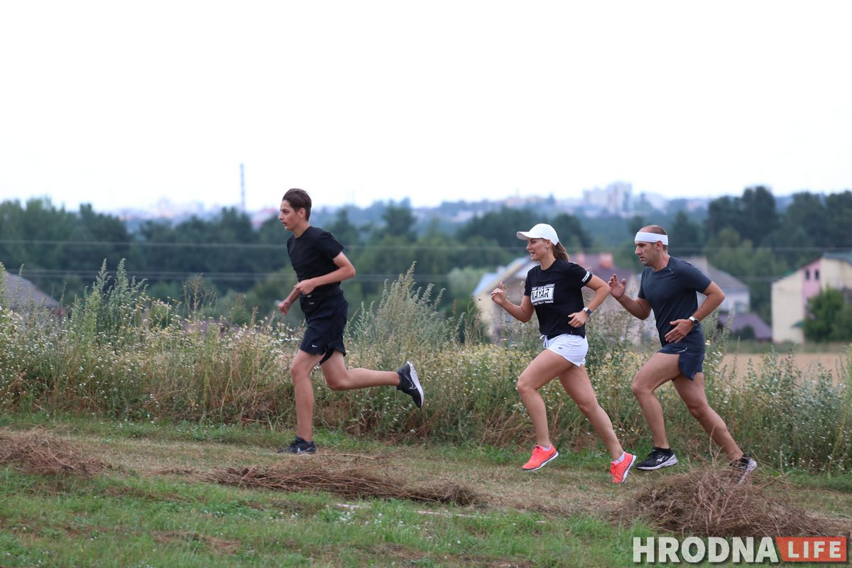 """«Все соскучились по бегу».  Гродненцы из клуба Run4Fun готовятся покорять """"Олимп"""""""