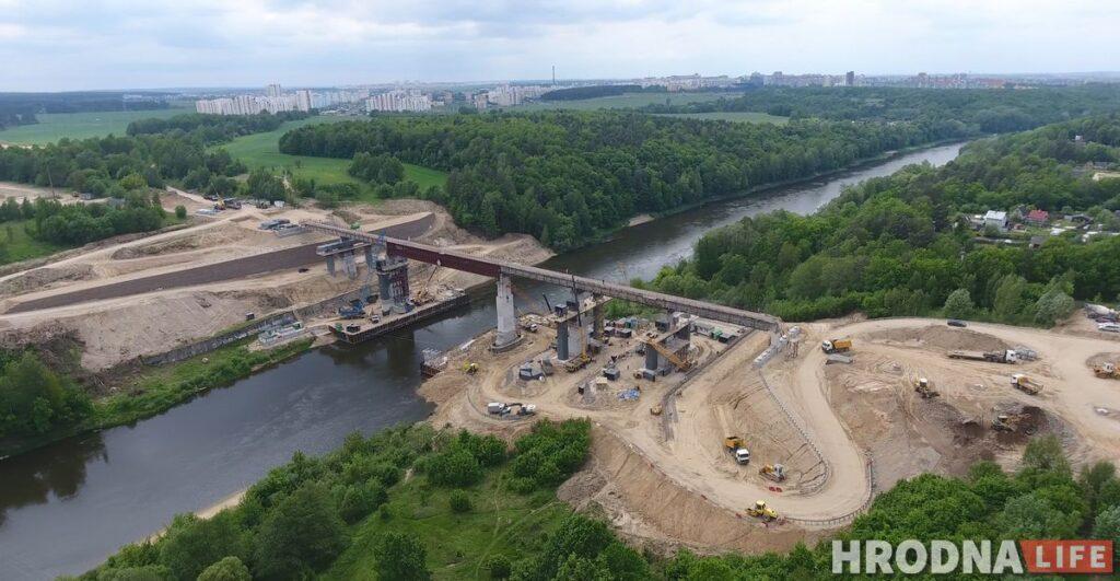 Строительство нового моста через Неман