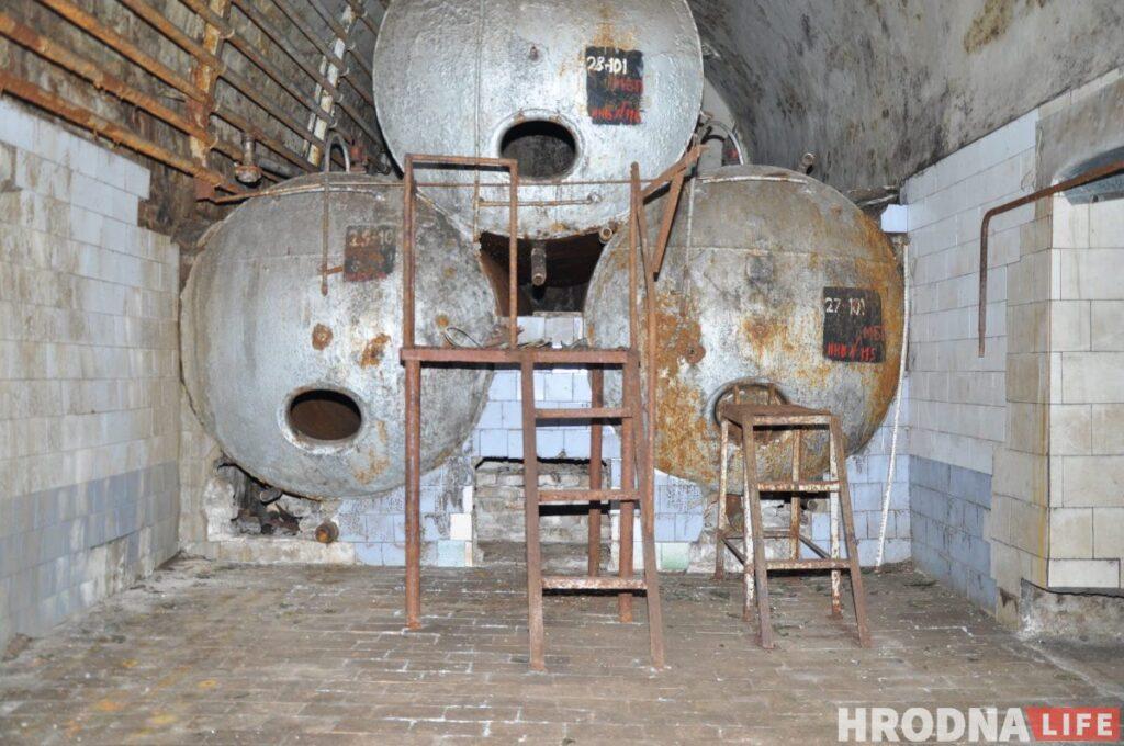 Гродненский пивзавод внутри. 2015 год. Фото из архива Андрея Вашкевича