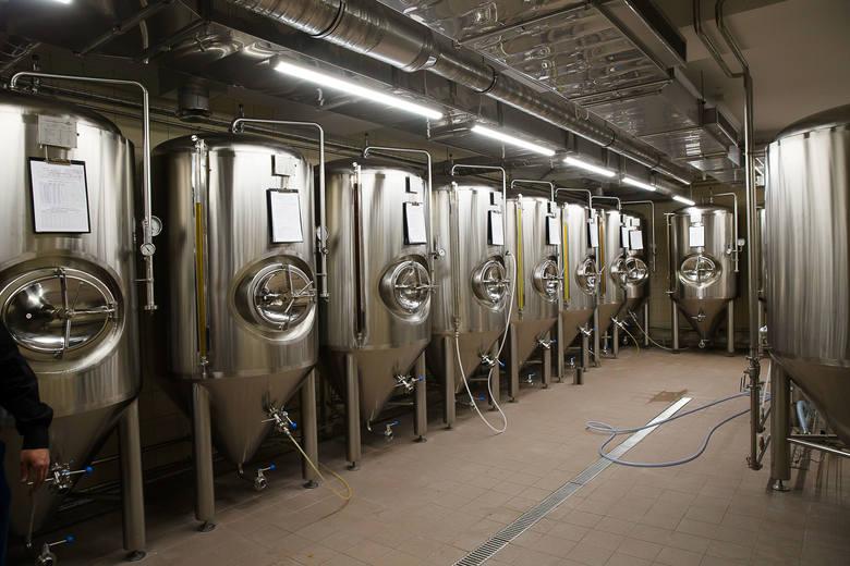 Мини-пивоварня Browar Stary Rynek в Белостоке. Фото: Wojciech Wojtkielewicz, poranny.pl