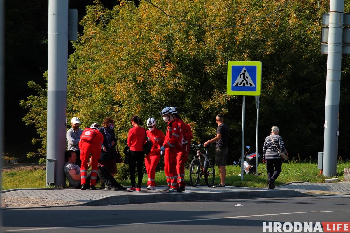 Наступили коленом на шею и душили. Как выглядели задержания в Гродно 20 сентября