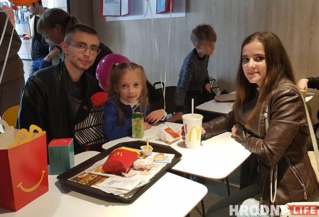 МакДональдс в Гродно