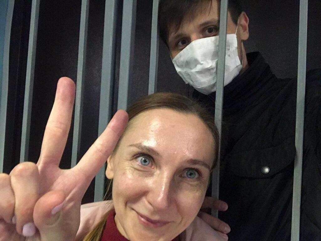 Ольга Величко и ее муж Сергей