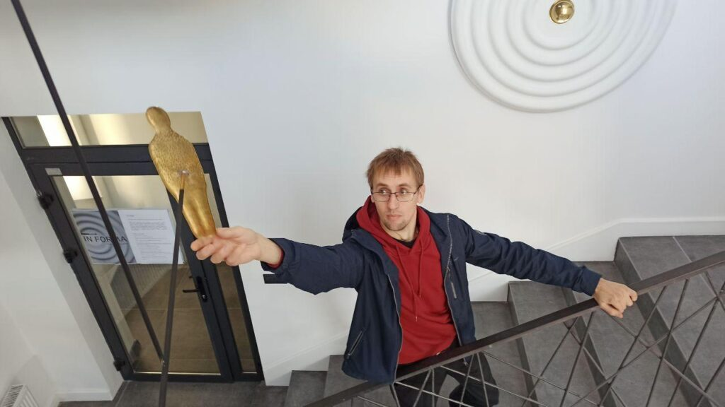 Александр Балдаков, выставка In forma, Городничанская 23