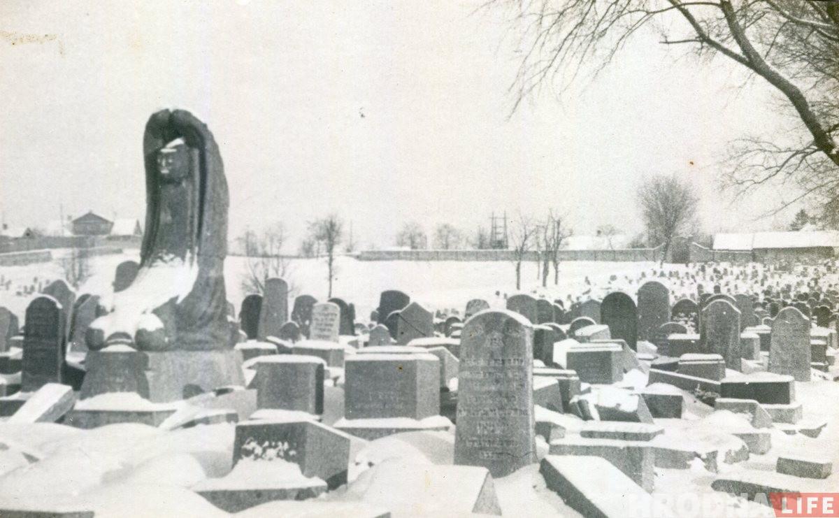Еврейское кладбище в Гродно. Могила Лейба Найдуса