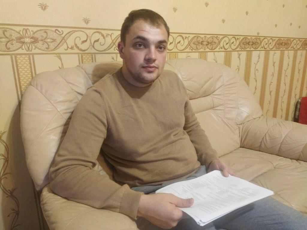 Дмитрий Житько беженец Латвия