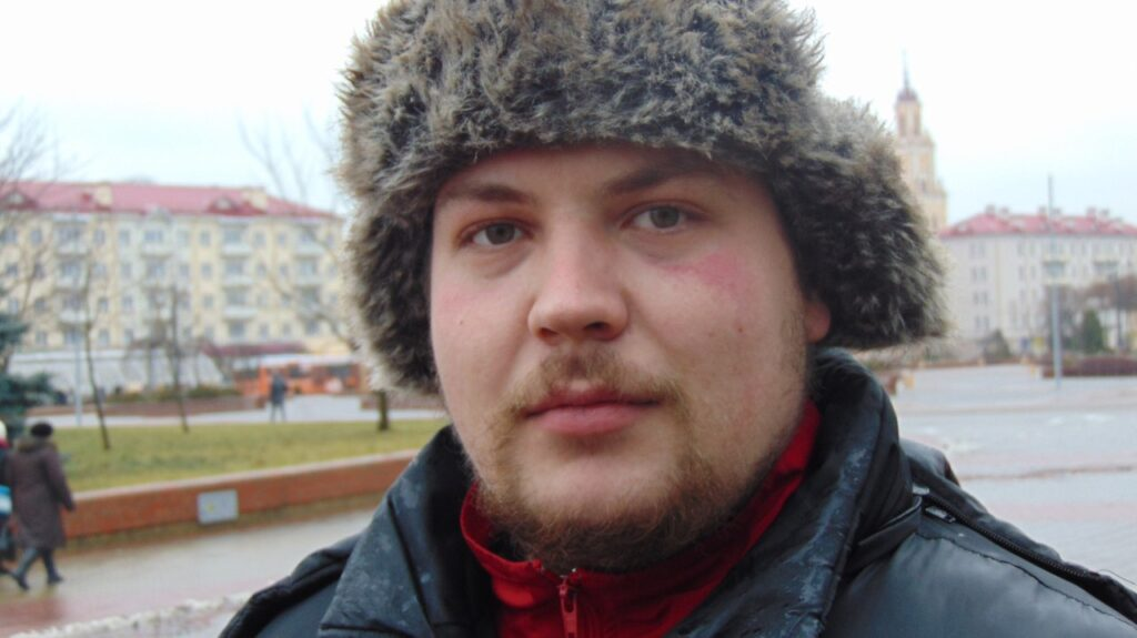 Создатель «Живой библиотеки» в Гродно Иван Барановский