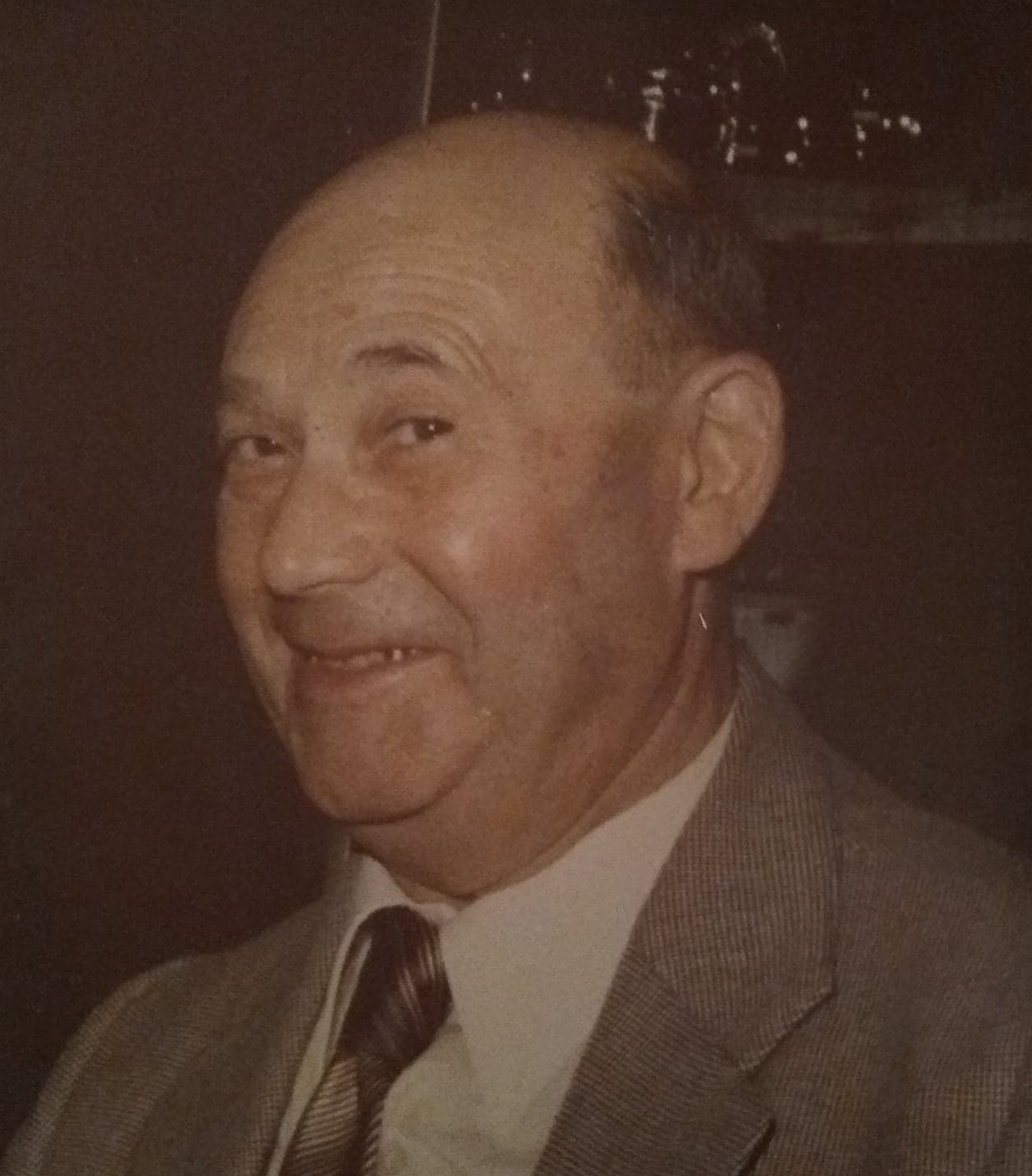Матвей Шафранский в возрасте 62 лет. Фото: архив семьи Шафранских