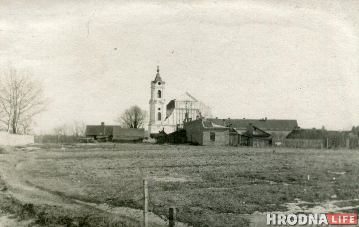 послевоенный Гродно  / Недалеко от Слижовки. 1950-е гг. Фото из архива семьи Бернацких