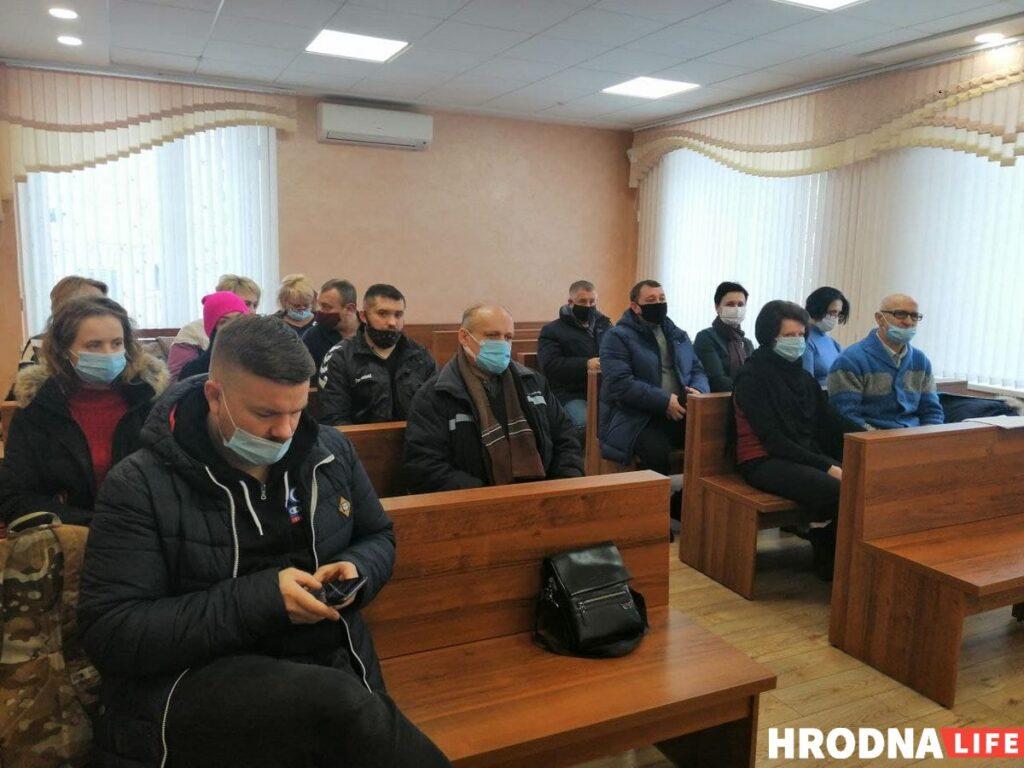 Дело Юзеф Немеро. Заседание в Гродненском областном суде 14 января. Фото: Hrodna.life