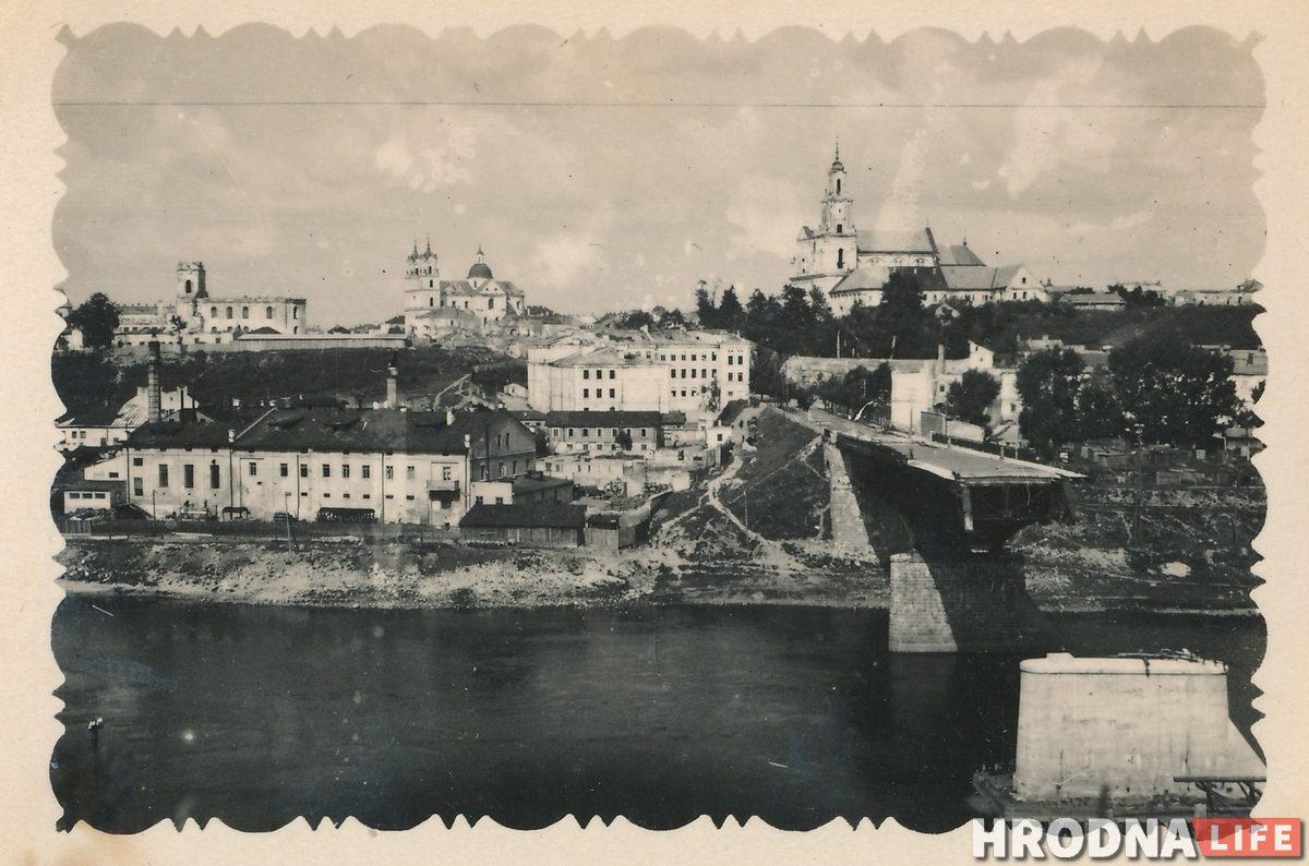 Развалины на Советской, взрывы на Немане и строительство моста. Гродненец рассказывает про послевоенную жизнь в городе