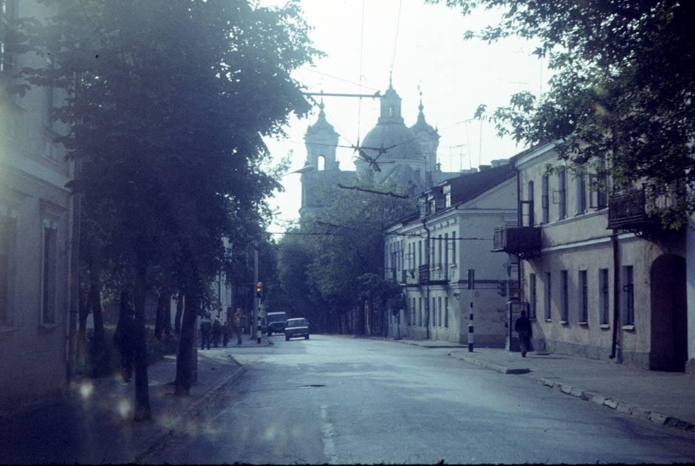 Улица Карла Маркса, 1980-е гг. Фото из архива Виктора Сокирко