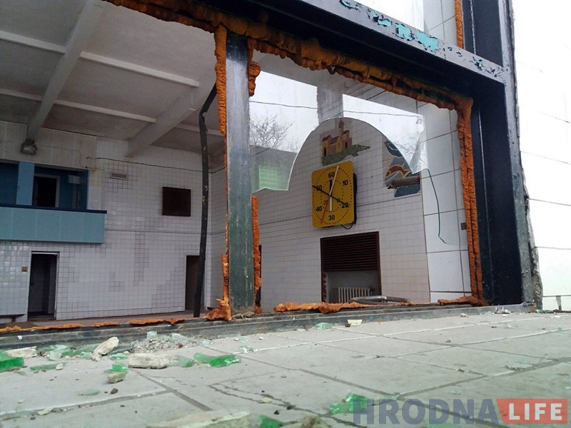 """Бассейн """"Лазурный"""" после закрытия в 2016 г."""