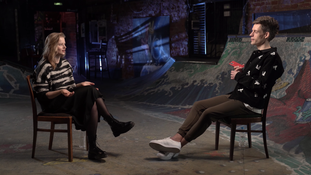 Актриса Саша Бортич: Беларусы — очень терпеливый народ, но когда он нарисовал 80%, они такие: «Чувак, нет»