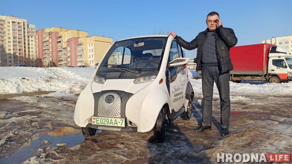 Электромобиль Sidus A01 сделан в Китае. Он маленький и экономичный