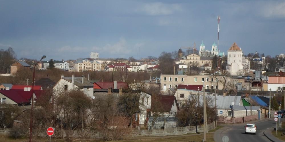 19-этажка на Щорса навсегда испортила вид на исторический центр Гродно. Фото: Мечислав Супрон