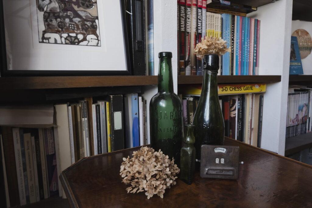 Одна из бутылок из коллекции Ирины