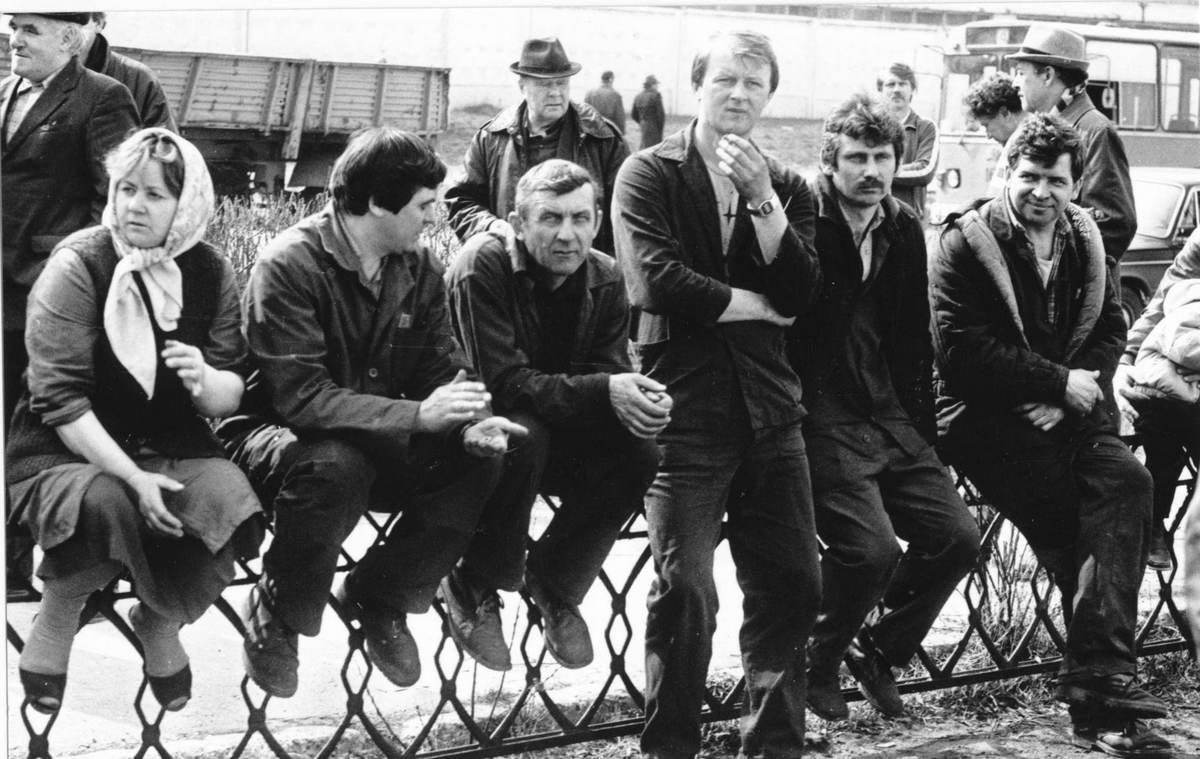 """""""Тады была свабода"""". Як у 1991 годзе ў Гродне працоўныя зладзілі страйк і дамагліся свайго"""