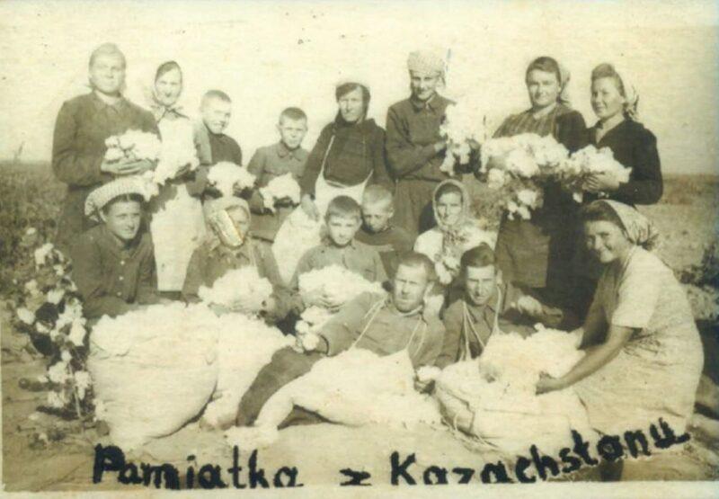 Вывезенные в Казахстан. Фото из архива семьи Яблонских