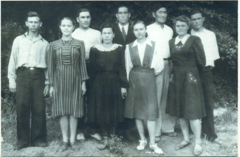Фото из Казахстана. Архив семьи Яблонских