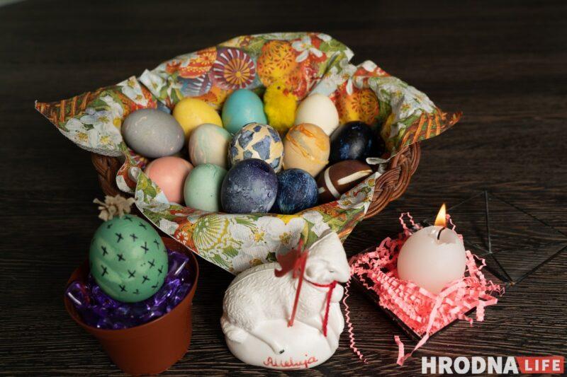 пасхальная корзинка, как красить яйца на Пасху