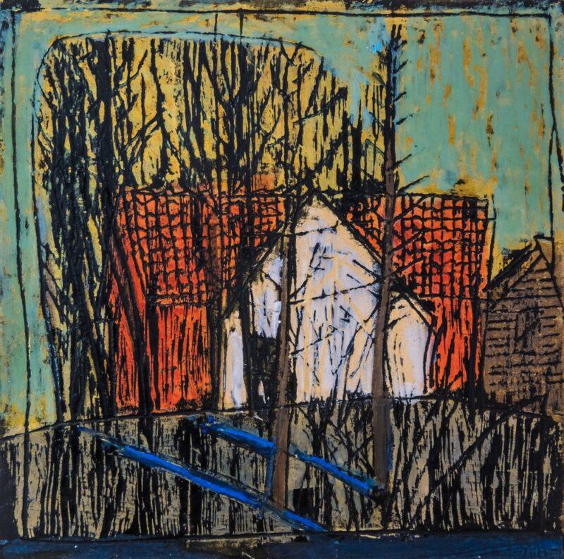 """""""Это же жуть, и она аккумулируется через меня"""". Гродненская художница открыла виртуальную выставку о заброшенных деревнях"""