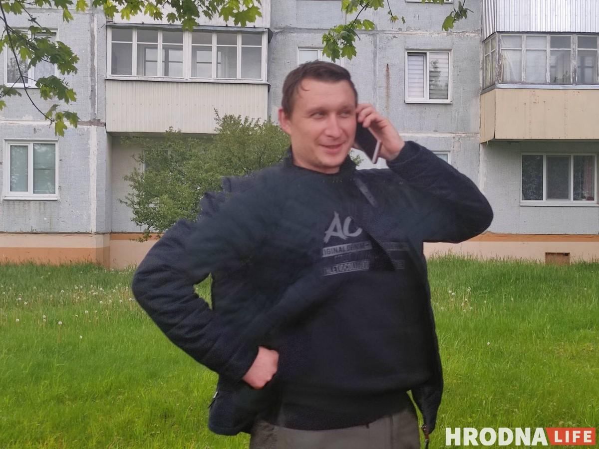 Відэааператар Андрэй Фралоў выйшаў на свабоду пасля 15 сутак арышту