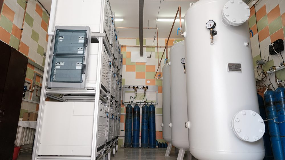 Современная кислородная станция