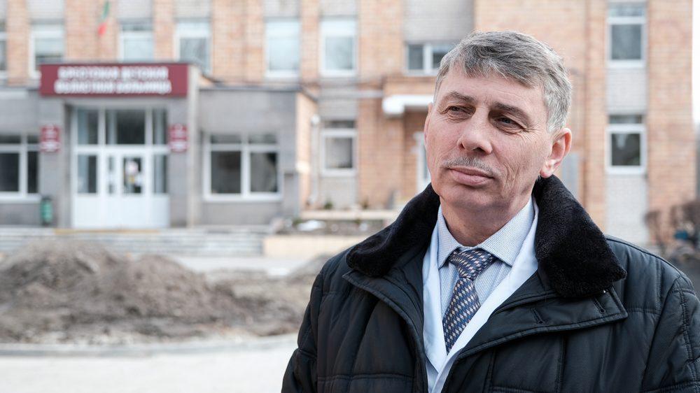 Сергей Ковшик, руководитель Брестской детской больницы