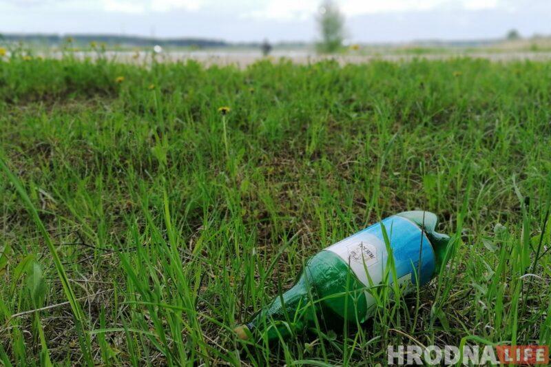 отдых на пляже на Гродненском море, водохранилище ГЭС