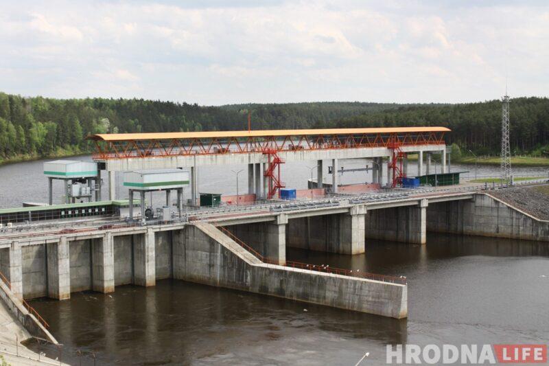 Гродненская ГЭС начала работать в 2012 году. Фото: Ольга Селицкая