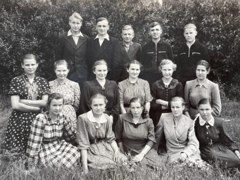 школьный выпускной 1958 год волковысский район
