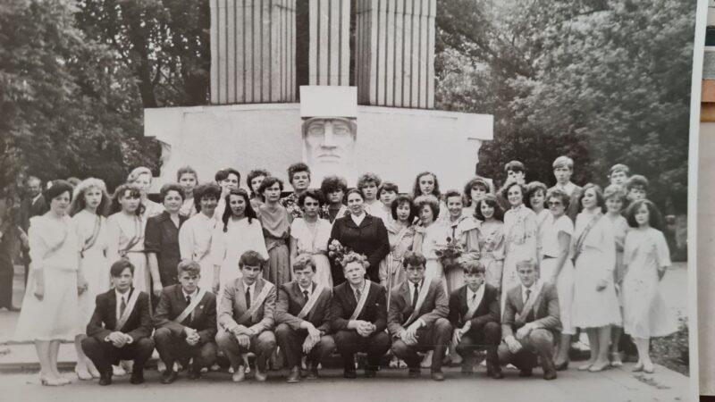 школьный выпускной 1987 клецк