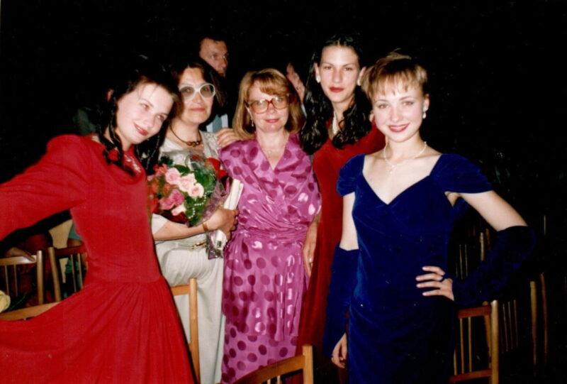 школьные выпускные 1995 Гродно