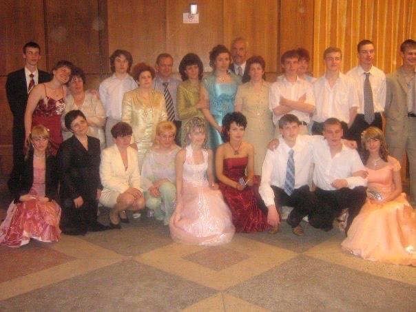школьный выпускной 2006