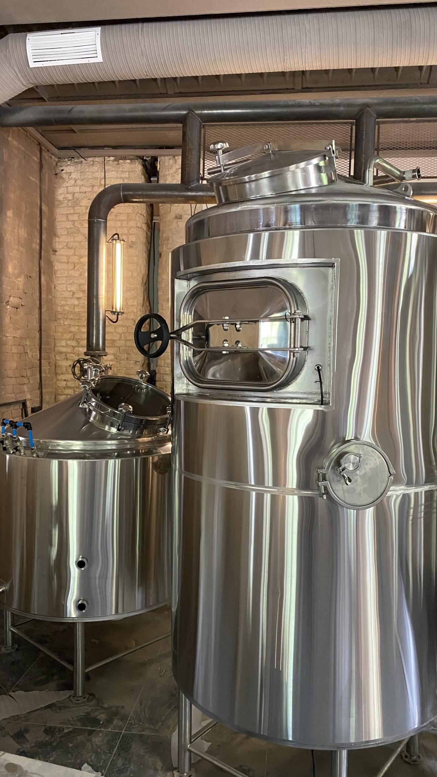 До 12 тонн в месяц. В Гродно в июне откроют ресторан-пивоварню с собственным крафтом