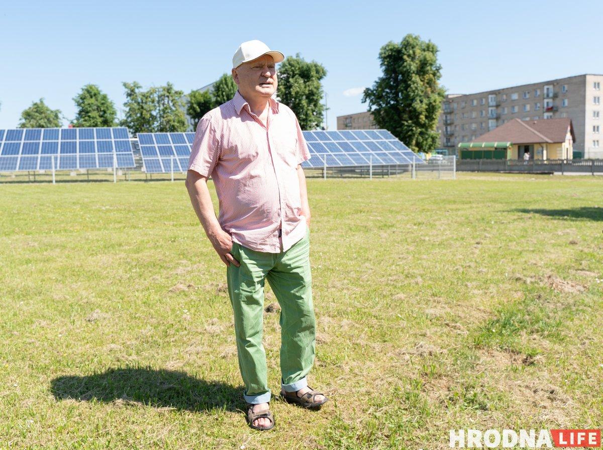 Возобновляемые источники энергии и зеленая энергетика - Новогрудок. Владимир Кузьмич - кандидат технических наук и менеджер проекта