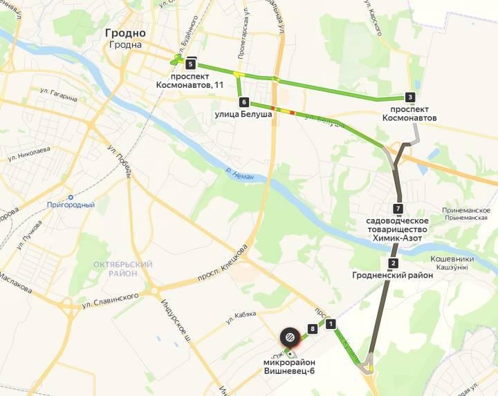 У Гродне з'явіцца новы аўтобусны маршрут: ён пройдзе праз новы мост
