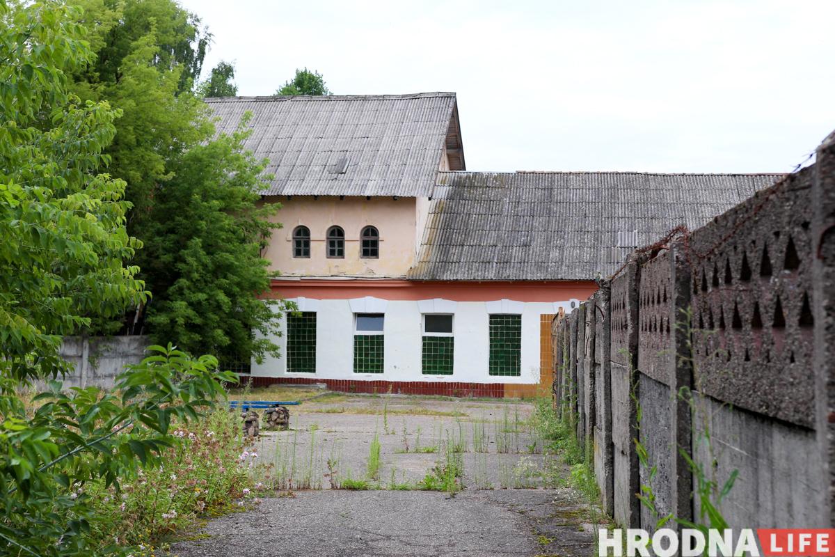 Фолюш, бывший военный городок, снос