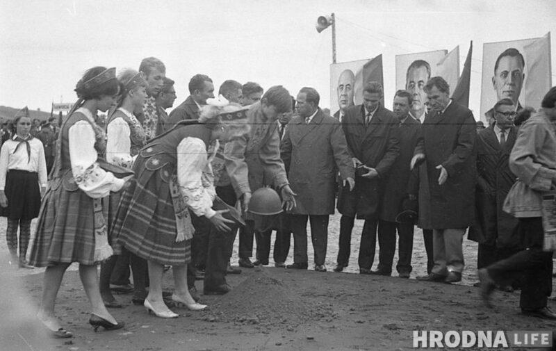 Капсула с посланием потомкам, Курган Славы в Гродно, 1969 г.