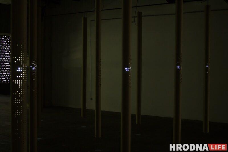 """Закроем глаза и представим…».   В Гродно представили арт-проект Александра Балдакова «LUMINARIUM»"